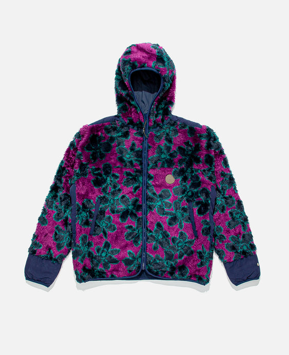 Hidden Secrets Recycled Polyester Jacket (Purple)