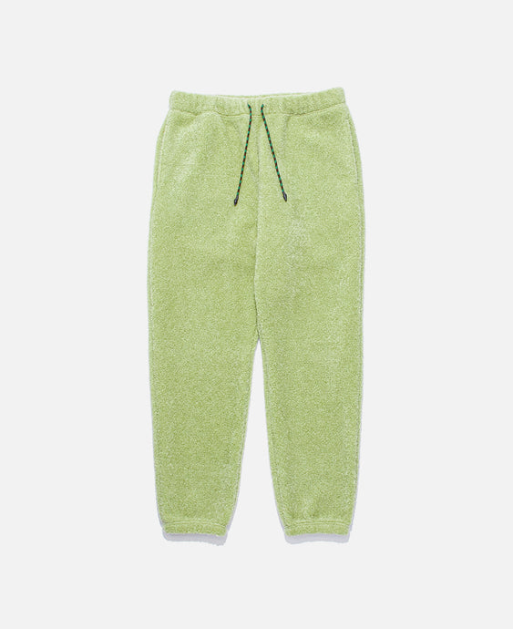 Sheep Boa Pile Sweat Pants (Green)