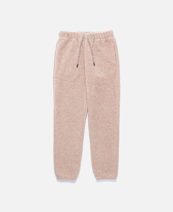 Sheep Boa Pile Sweat Pants (Pink)