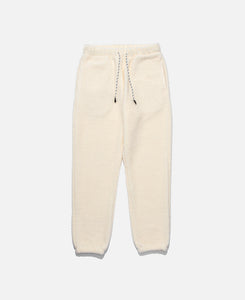 Sheep Boa Pile Sweat Pants (White)