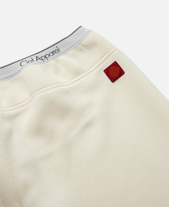 CLOT Apparel Elastic Pants (White)