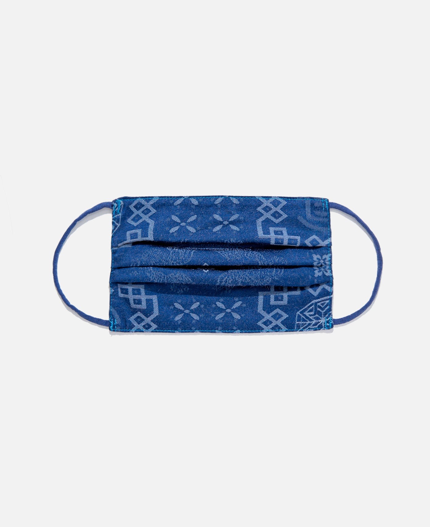 Silk Mask Cover (Navy)