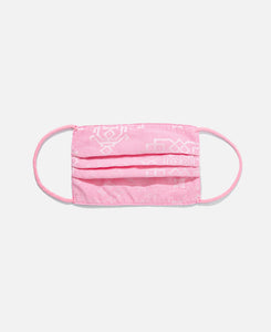 Silk Mask Cover (Pink)