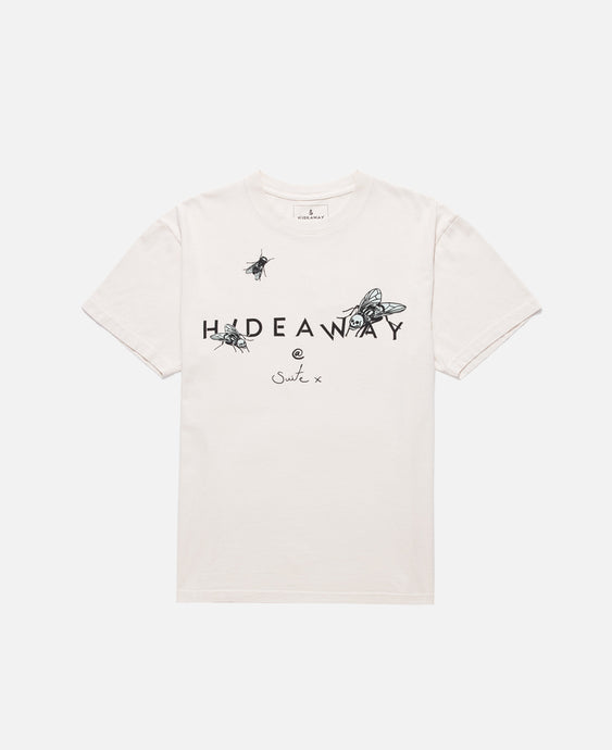 S/S Skull Fly T-Shirt (Cream)
