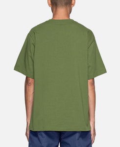 Logo Patchwork S/S T-Shirt (Olive)