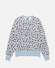 Leopard Multi-Color Crewneck (Grey)