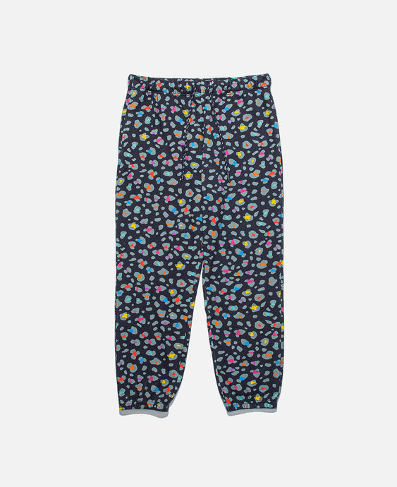 Leopard Multi-Color Sweatpants (Navy)