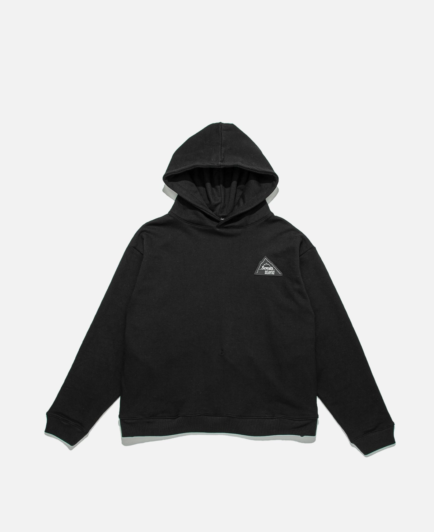 Rubber Patch Mountain Logo Hoodie (Shfw20Hd01) Black