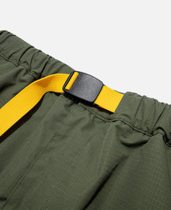 Buckle Ripstop Pants (Olive)