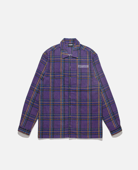 Widow Heavyweight Flannel Jacket (Purple)