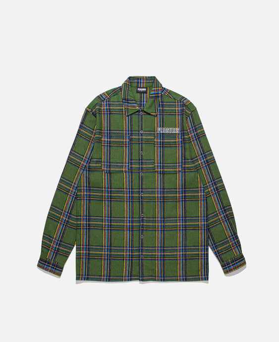 Widow Heavyweight Flannel (Green)