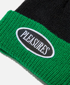 Logo Two Tone Beanie (Black)