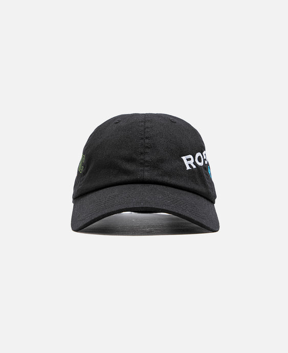 Embroidered Logo Cap (Black)