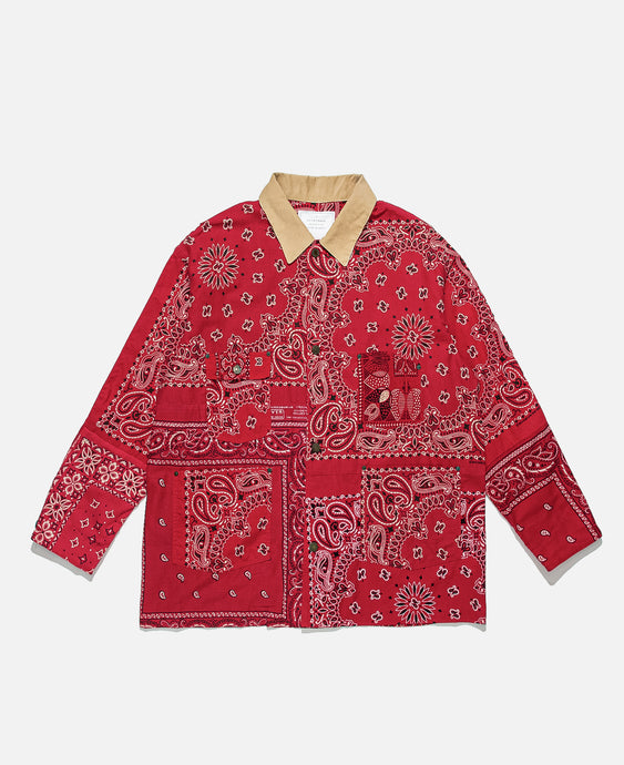 Bandana Barn Coat (Red)