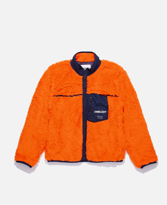 New Fleece Jacket (Orange)