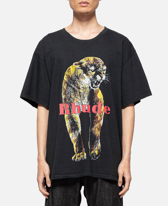 Cougar T-Shirt (Black)