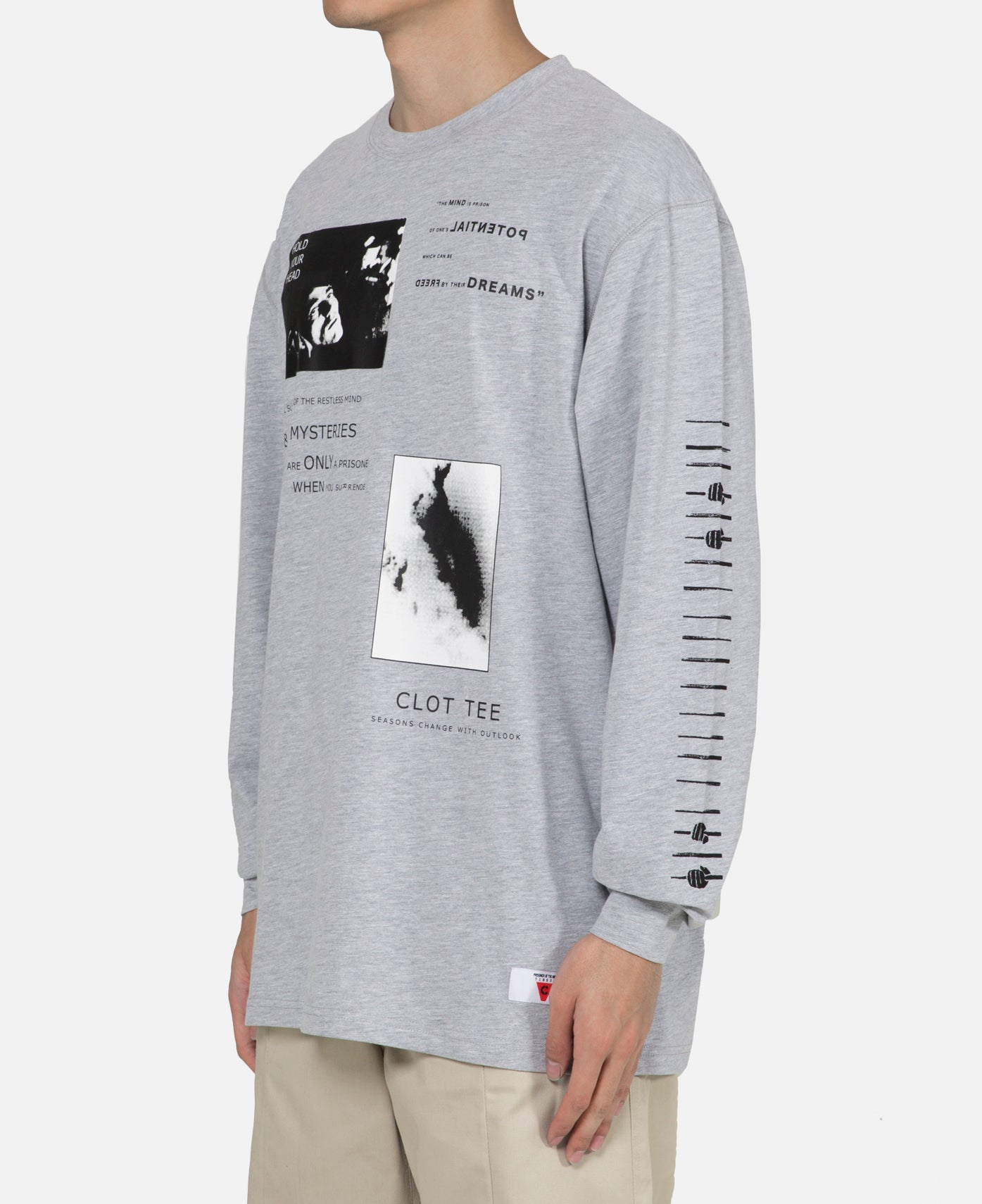 Hold Your Head L/S T-Shirt