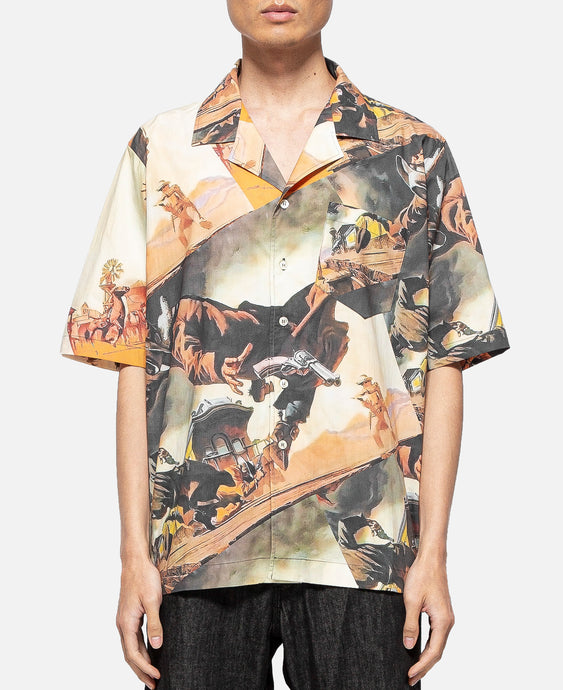 Gunslinger S/S Hawaiian Shirt (Multi)