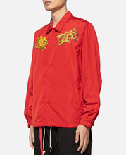 Dragon Phoenix Coach Jacket (Red)
