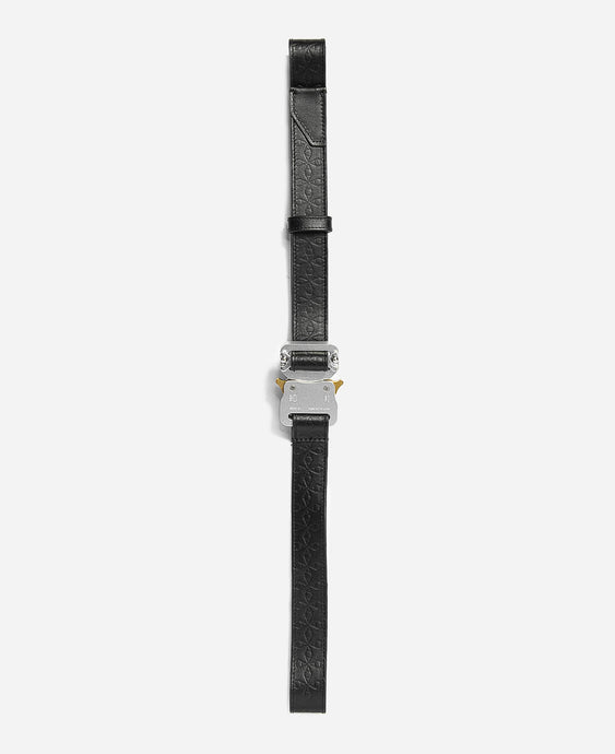 Monogram Medium Rollercoaster Belt (Black)