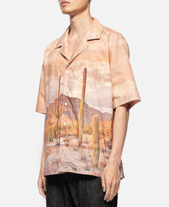 Cactus Button Up (Brown)
