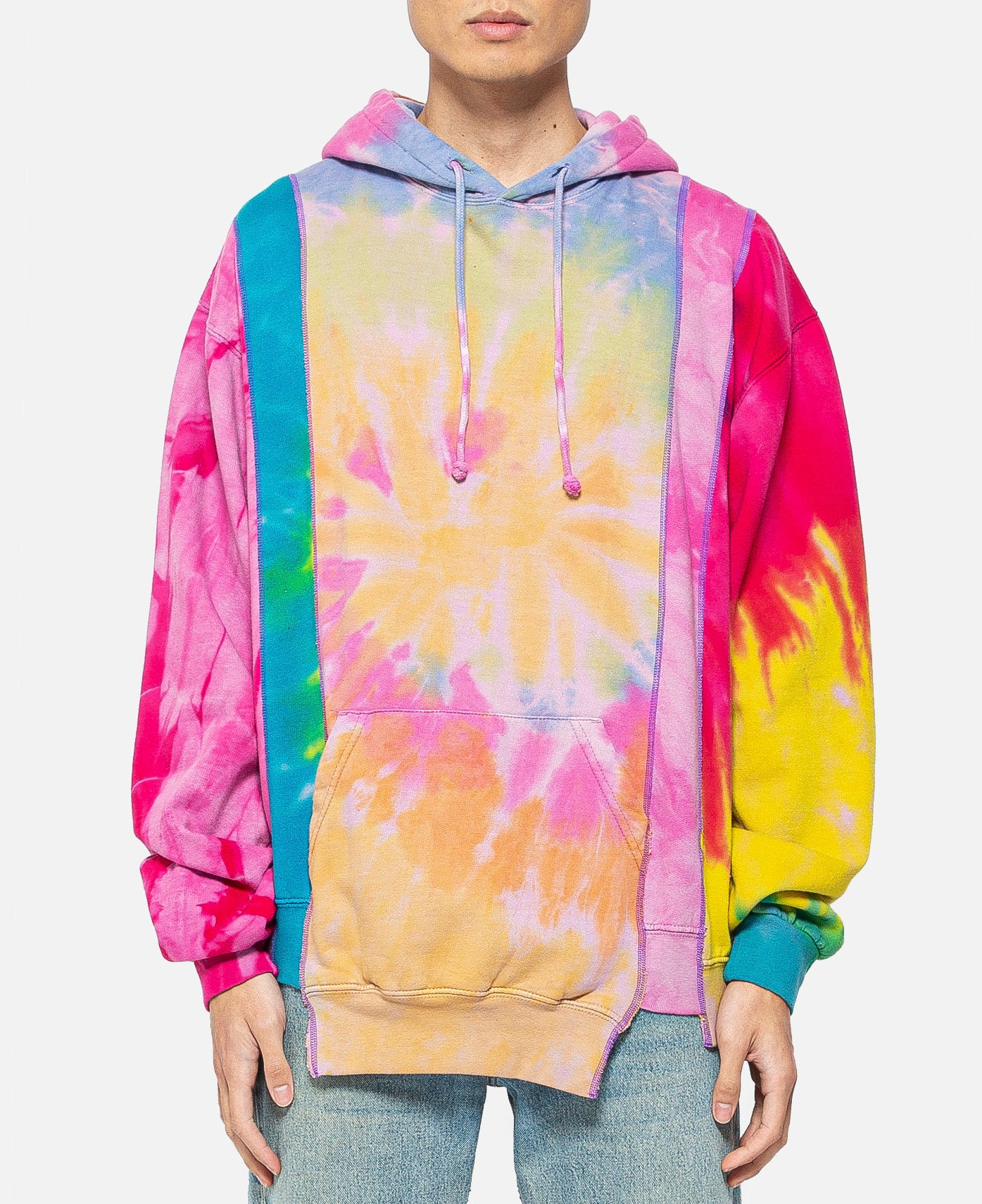 Rebuild By Needles 5 Cuts Hoodie (Tie Dye)