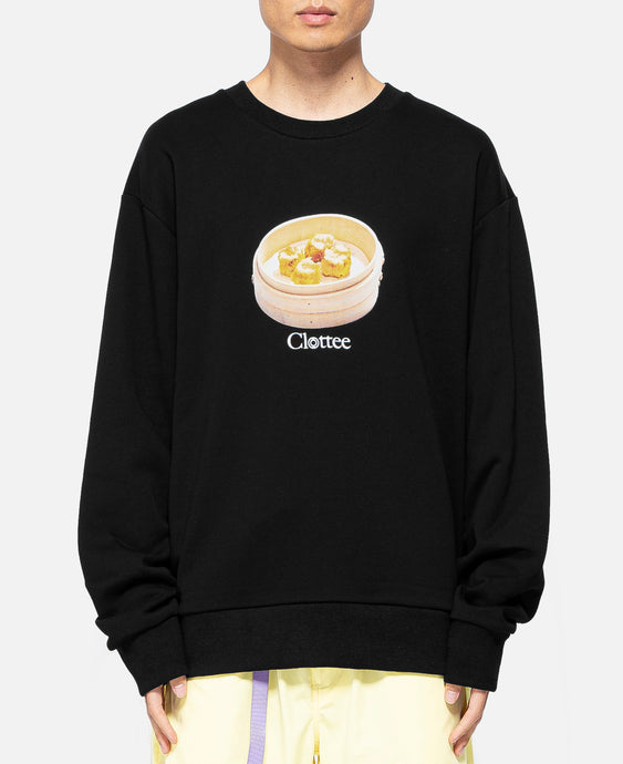 Siu Mai Crewneck Sweat (Black)