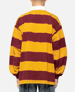 L/S Rugby Polo Shirt (Yellow)