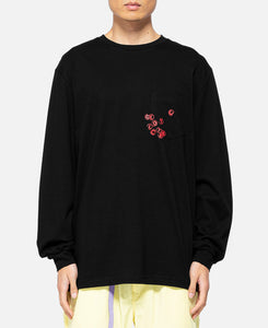 Stamp L/S T-Shirt (Black)