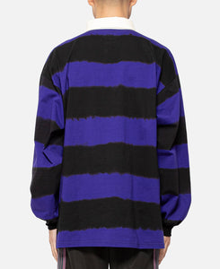 L/S Rugby Polo Shirt (Purple)