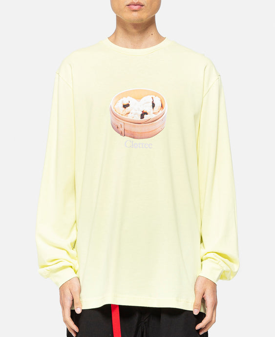 BBQ Pork Bun L/S T-Shirt (Yellow)