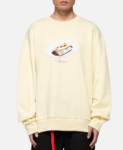 Cheung Fun Crewneck Sweat (Yellow)