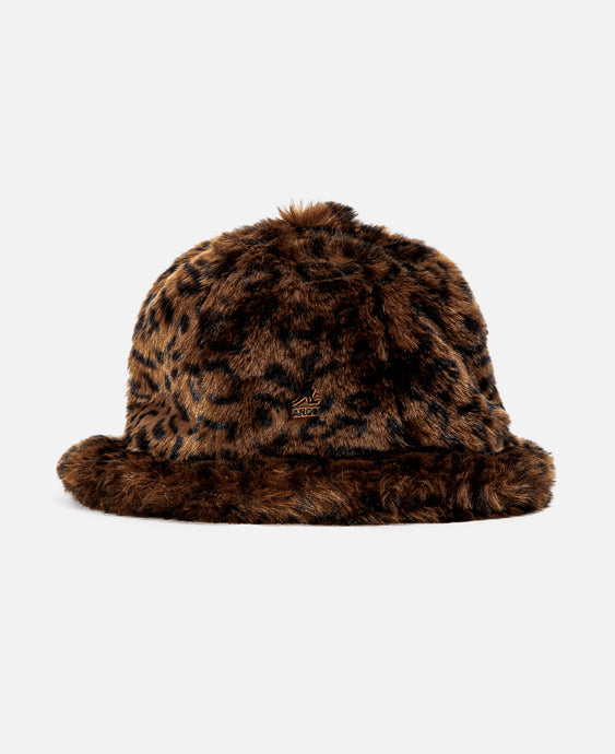Faux Fur Casual (Brown)