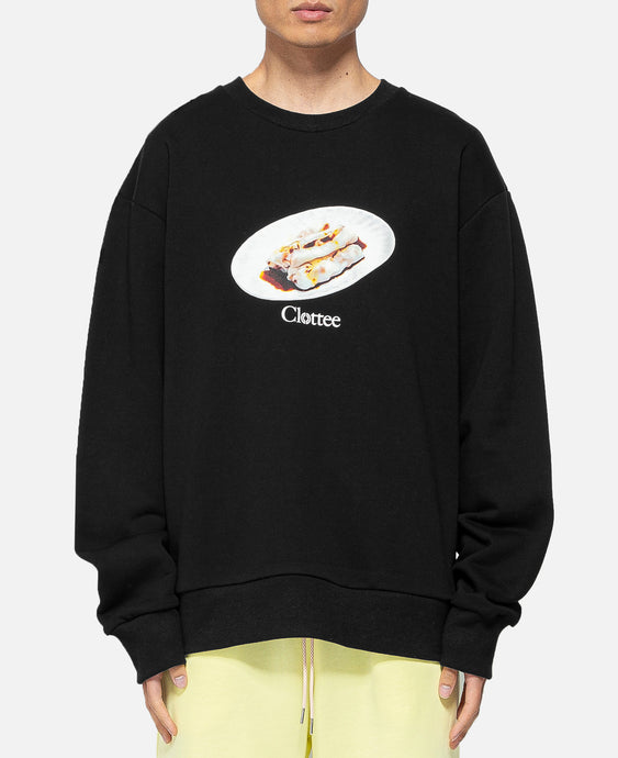 Cheung Fun Crewneck Sweat (Black)
