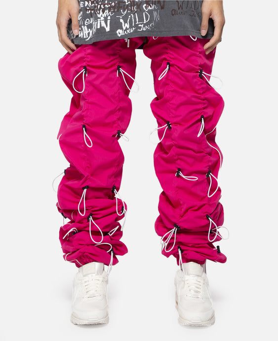 Gobchang Pants (Pink/White)