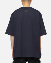 Wire Print T-Shirt (Navy)