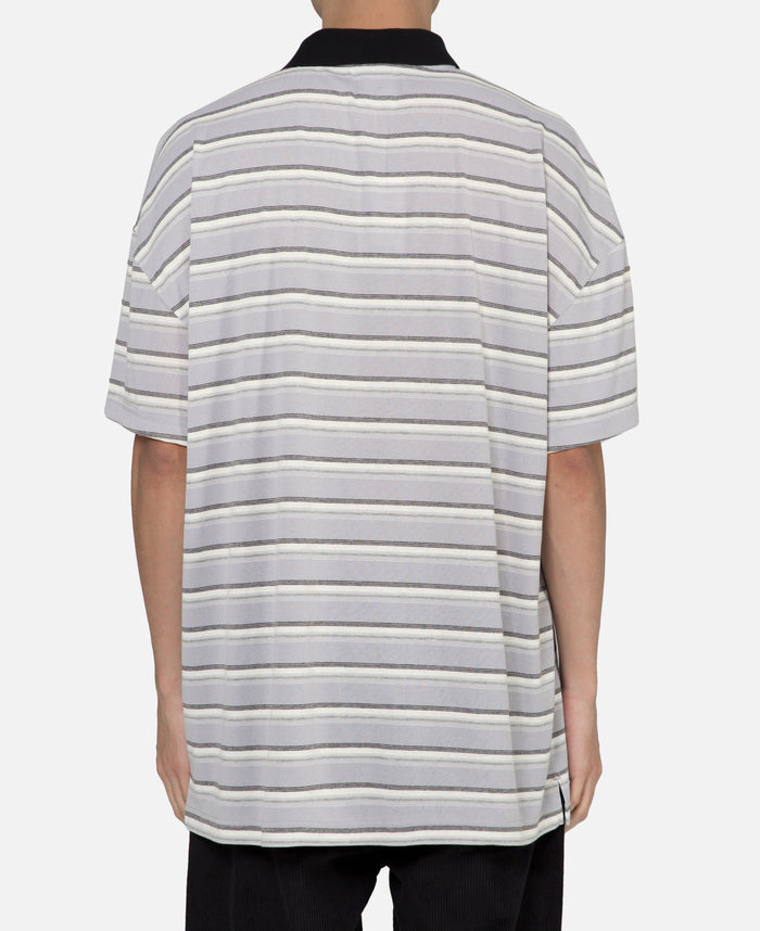 Stripe S/S Polo Shirt