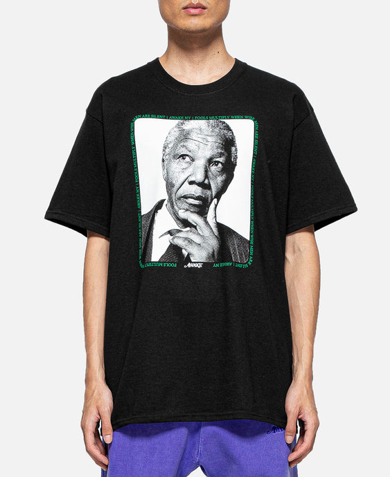Mandela S/S T-Shirt (Black)