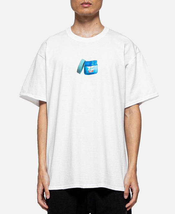 Rub Graphic S/S T-Shirt (White)