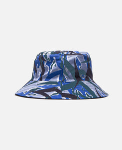 """Blue Tiger ALIENEGRA 2.0"" Reversible Bucket Hat (Blue)"