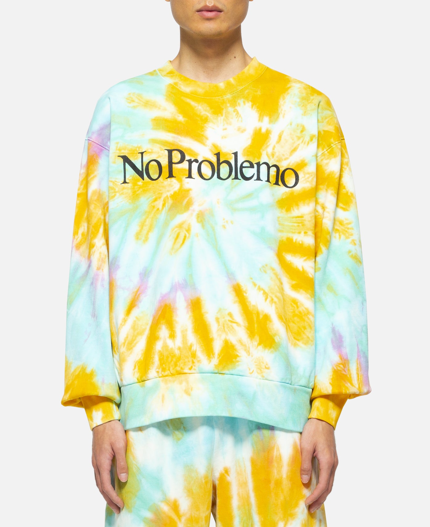 No Problemo Tie Dye Sweat (Multi)