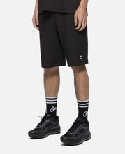 Script Sweat Shorts (Black)