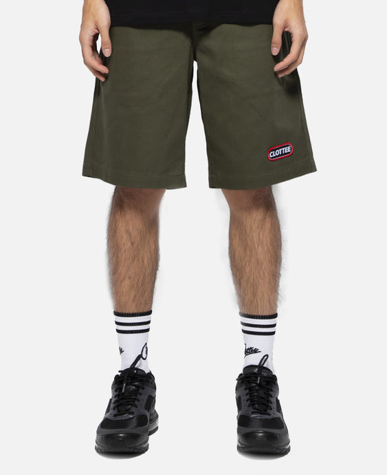 Patch Chino Shorts (Green)