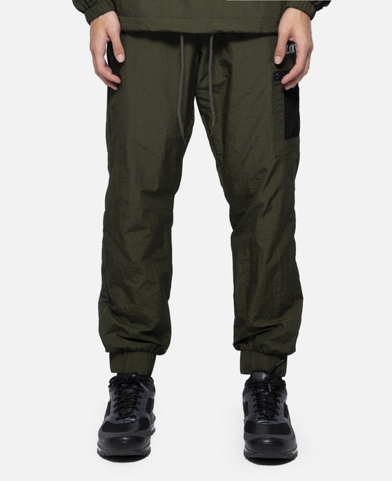 Mesh Pocket Trackpants (Green)