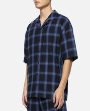 Plaid S/S Shirt (Blue)