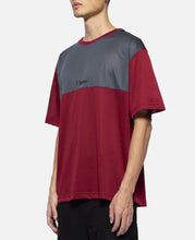 Colorblock S/S T-Shirt (Red)