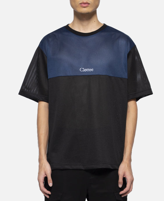 Colorblock S/S T-Shirt (Black)