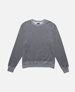 Metallic Weave Sweat Crewneck (Grey)