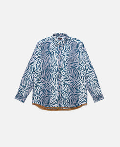 A.D. Tiger Camo L/S Shirt (Navy)