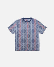 Stripes And Paisley T-Shirt (Navy)